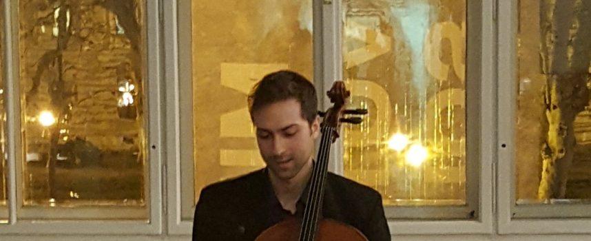 KONCERT Bjelovarski violončelist Emanuel Pavon održao uspješan koncert u Zagrebu