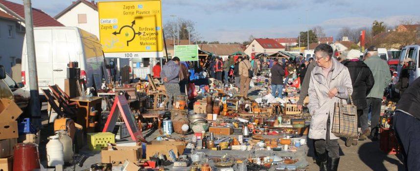 ŠTO ĆE BITI S BUVLJAKOM? Nakon najave gradnje nove tržnice, trgovci s buvljaka uznemireni