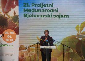 OTVOREN 21. PROLJETNI SAJAM Mjesto gdje se očituje dinamičnost hrvatske poljoprivrede