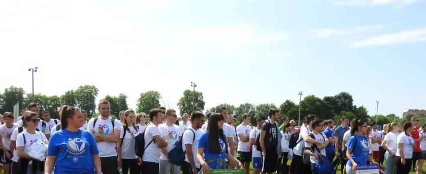 SPORTSKE IGRE STUDENATA U BJELOVARU Sedam fakulteta i 300 studenata na sportskim igrama