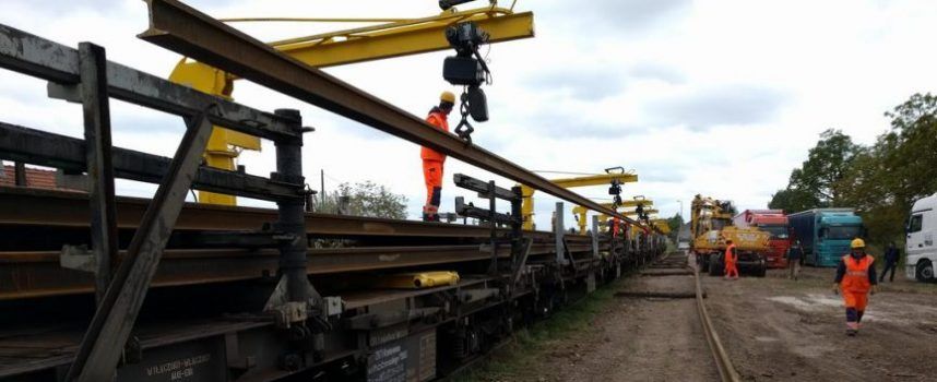 PROBLEMI S PRUGOM ZVANA ČEŽNJA Kasne radovi na izgradnji drugog kolosijeka Križevci-Dugo Selo