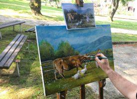 12. LIKOVNA KOLONIJA 20 slikara iz pet županija naslikalo mnogo fantastičnih djela