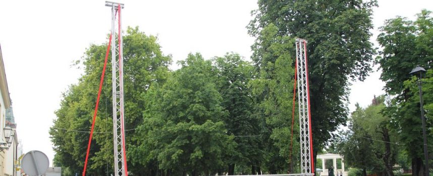 SVJETSKO NOGOMETNO PRVENSTVO Na gradskom korzu veliki video zid