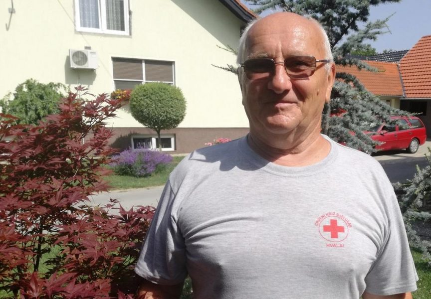 HUMANOST Vlado Baha jedan je od najstarijih bjelovarskih darivatelja krvi