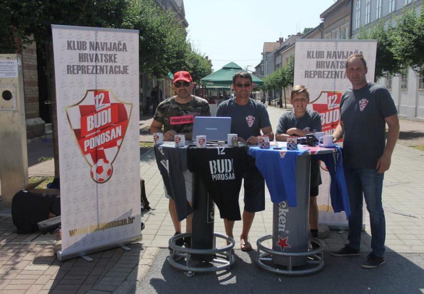 UDRUGA 12 BUDI PONOSAN U Bjelovaru otvorena prva podružnica navijača hrvatske nogometne reprezentacije