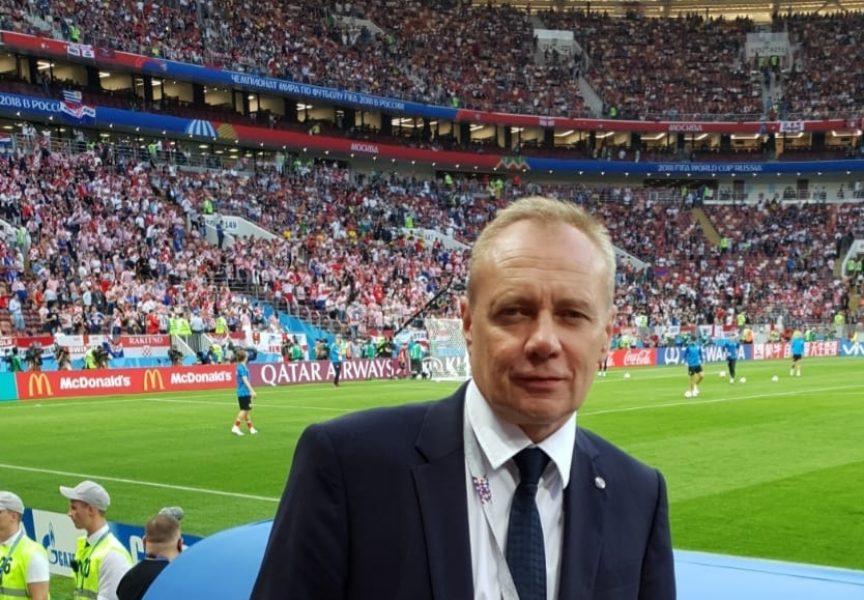 SLAVKO PRIŠĆAN IZ MOSKVE Na svim tekmama organizacije je bila vrhunska. Neki su na stadionu bili u predinfarktnom stanju