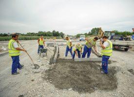 FOTOGALERIJA – ZATVORENA SJEVERNA OBILAZNICA Hrvatske ceste rade novi rotor