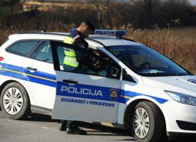 MLADOST LUDOST ILI? Uhićen bez položenog vozačkog kako vozi automobil s nepripadajućom registracijom
