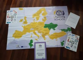 ŠKOLSTVO I EUROPA Bjelovarska osnovna škola opet provodi dva europska projekta