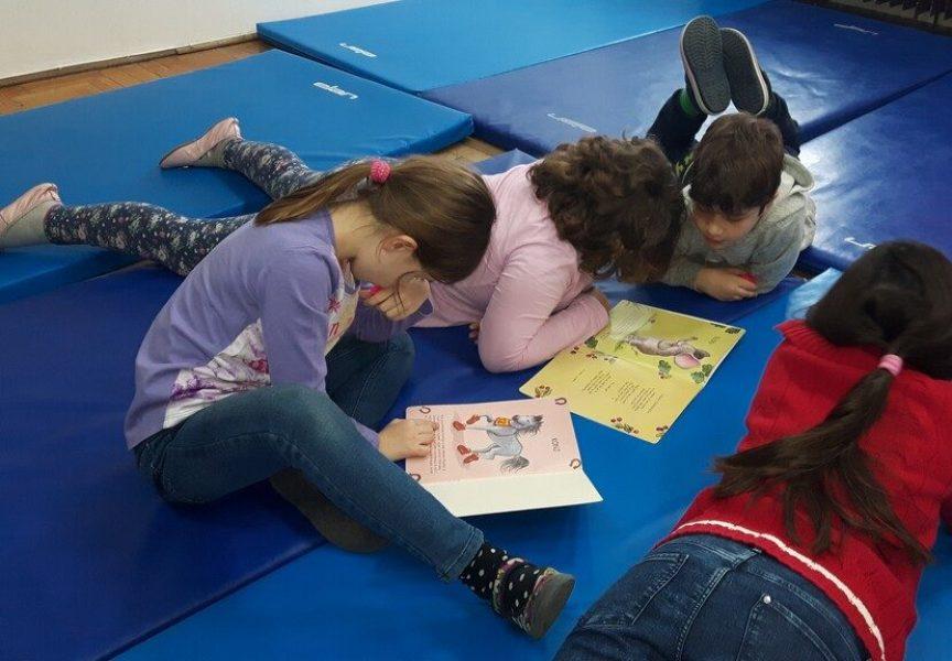 PRVA OSNOVNA ŠKOLA BJELOVAR Problem produženog boravka. U skučenoj prostoriji smješteno 36 učenika