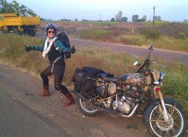 VELIKA AVANTURA Supružnici Wharton iz Japana u Bjelovar stigli na motociklu