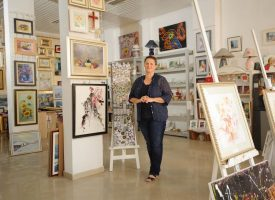LIKOVNA UMJETNOST U BJELOVARU Mnogi su hobi 'potvrdili' diplomama Akademije likovne umjetnosti