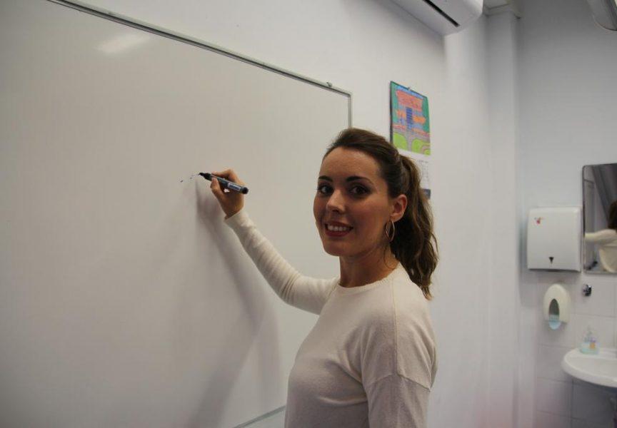 ŠPANJOLSKA UČITELJICA NA NASTAVI U BJELOVARU Učitelji iz cijele Europe sastali se u Prvoj osnovnoj