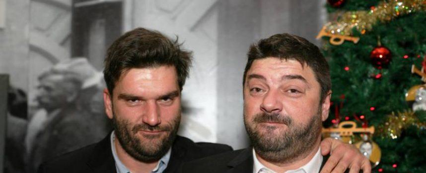 BRAĆA NAVOJEC ZAJEDNO U NOVOM KINO HITU Uspješni redatelj Vinko Brešan snimio film s poznatim Bjelovarčanima