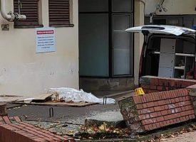 Pijani vozač parkirao u zid na 'Omladincu'