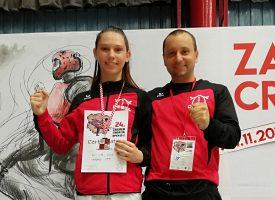Omege oduševile na Croatia Openu – Sara Punčec srebrna, Ela Jelić brončana