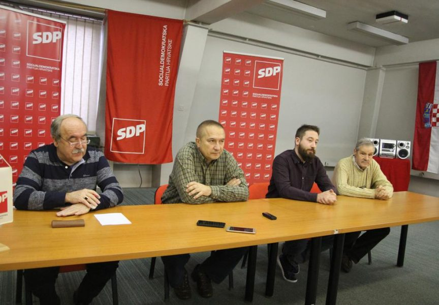 Bjelovarski SDP traži promjenu imena određenih ulica