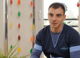 BLAŽEN MEĐU ŽENAMA Josip Herman jedini je odgajatelj u Bjelovaru