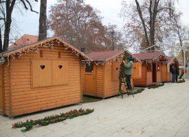 FOTOGALERIJA -Završne pripreme za 'Advent u Bjelovaru'