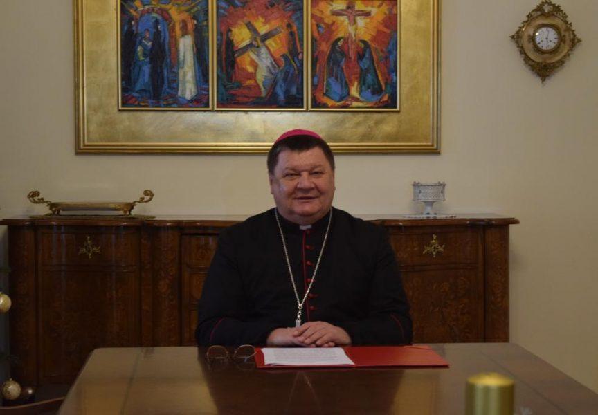 BOŽIĆNA PORUKA -Bjelovarsko – križevački biskup mons. Vjekoslav Huzjak