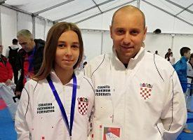 TAEKWONDO Ena Daskijević u kimonu reprezentacije nastupila na Europskom prvenstvu