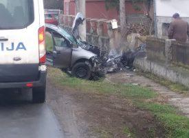 TEŠKA NESREĆA Mladić poginuo, suputnik se nalazi u bolnici u teškom stanju