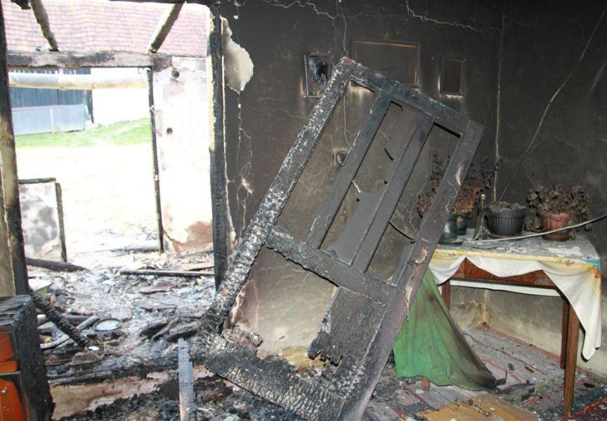 NOVI POŽAR SA SMRTNIM POSLJEDICAMA Kod Daruvara buknuo požar na obiteljskoj kući. Smrtno stradala jedna osoba