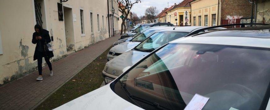 PROMETNA STUDIJA Kako Bjelovarčane demotivirati na parkiranje u najužem centru grada?