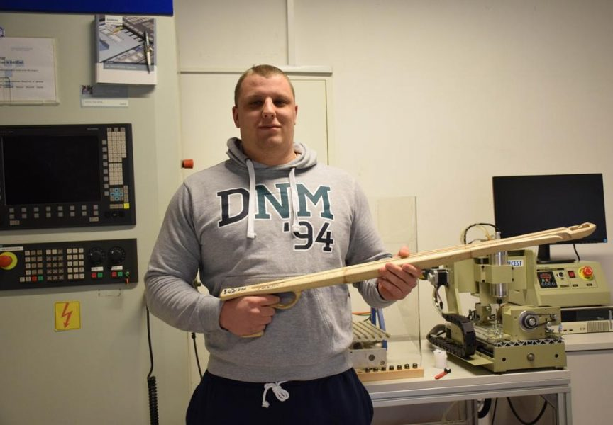 BJELOVARSKE INOVACIJE Studenti osmislili vrhunsku podvodnu pušku