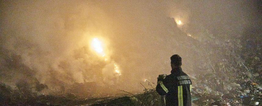 Dramatična noć na Johovači, netko je podmetnuo tri požara na gradskom smetlištu