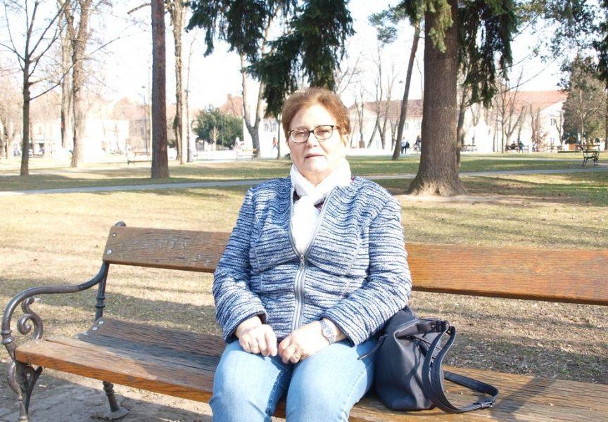 BAKA PLIVAČICA Marija Klasić naučila plivati u 73. godini života