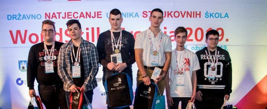 SVAKA ČAST Učenici Tehničke škole Bjelovar osvojili srebrnu medalju na državnom natjecanju iz robotike