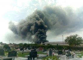 GRUBIŠNO POLJE Buknuo požar u postrojenju Zagrebpetrola