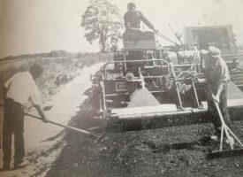 POGLED U PROŠLOST Prvih poratnih godina podizanje tvornica i elektrifikacija ostavile su u zapećku gradnju cesta