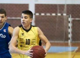 KOŠARKA Vito Porobić u juniorskoj reprezentaciji Hrvatske