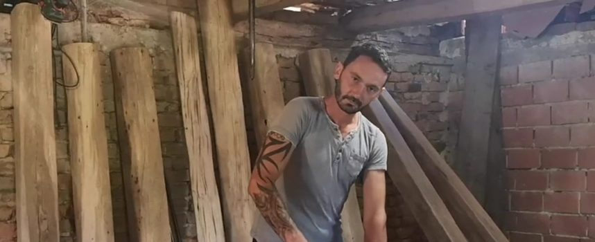 Gordan Drenovac udahnjuje novi život odbačenoj građi