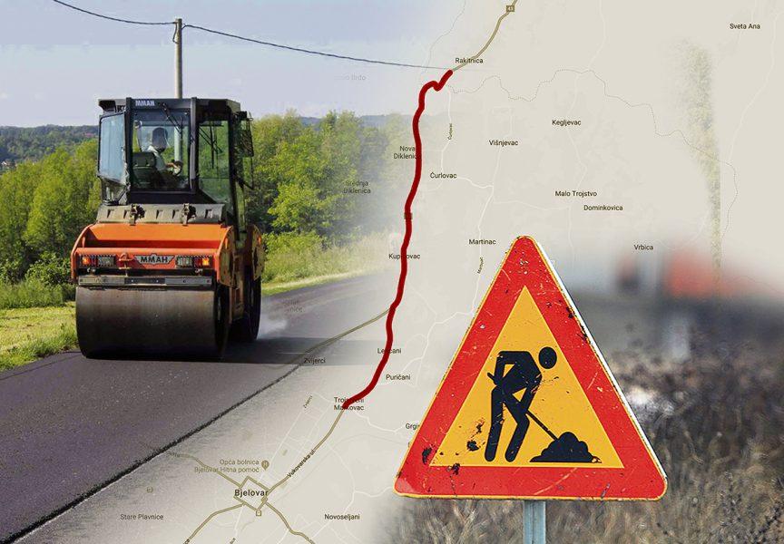 HRVATSKE CESTE Proširuje se cesta od Rakitnice do Đurđevca