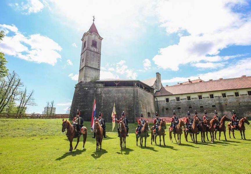 BJELOVARSKI HUSARI Nakon Alke u Sinju zaputili se u mađarski Kaposvar