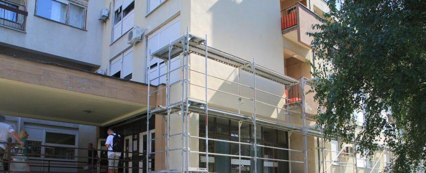 FOTO –  Energetska obnova Opće bolnice Bjelovar