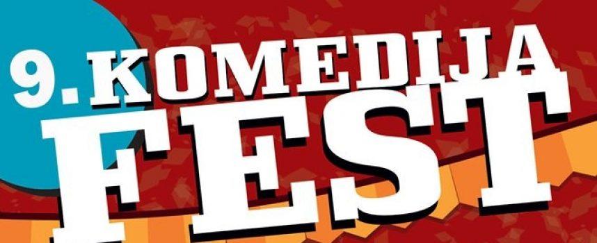 9. KOMEDIJA FEST  Deset dana smijeha i vrhunskih predstava