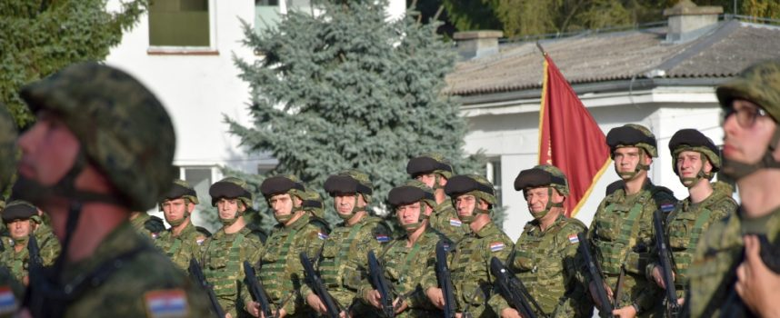 Ministar Krstičević ispratio 5. vojni kontigent u Poljsku