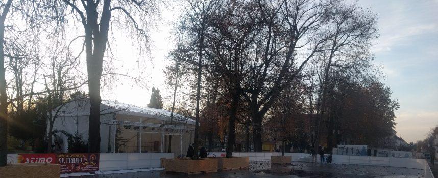 Odgođeno sutrašnje otvorenje Bjelovarskog klizališta