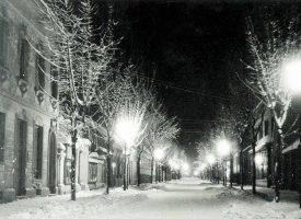BJELOVAR NEKADA Snijeg nije bio senzacija, a grudanje i sanjkanje odvijalo se gotovo u svakoj ulici