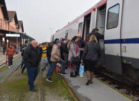 POVRATAK NA TRAČNICE Više od 6.000 Bjelovarčana iskoristilo promo vožnju vlakom do Zagreba