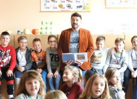 ČITAMO ODRŽIVO Navojec podržao projekt i učenicima čitao Šegrta Hlapića