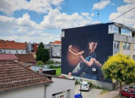 U Bjelovaru će sredinom lipnja osvanuti brojni novi murali