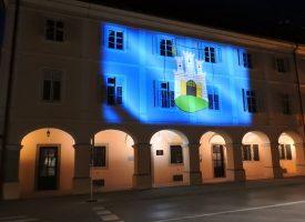 Gradski muzej u bojama Italije, Gradska uprava s grbom grada Zagreba