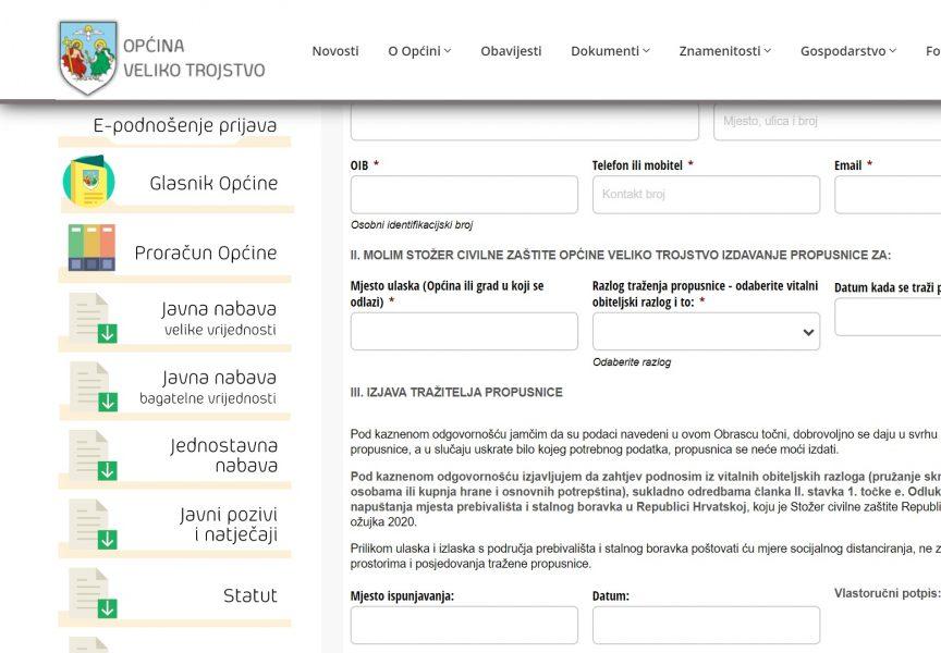 Nova Rača i Veliko Trojstvo digitalizirali propusnice, a Bjelovar tržnicu