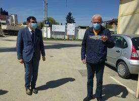 NOVA DONACIJA Bjelovarsko – bilogorska županija uručila novi set zaštitnih maski tipa FFP2 Općoj bolnici Bjelovar i Domu zdravlja