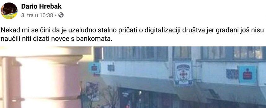 Hrebakov facebook status uvrijedio brojne građane. Oglasila se i oporba